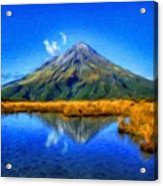 Nature Scenery Oil Paintings On Canvas Acrylic Print