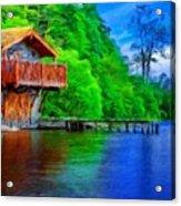 A Landscape Nature Acrylic Print