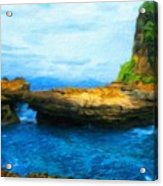 Landscape Painted Acrylic Print