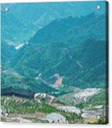 Longji Terraced Fields Scenery Acrylic Print