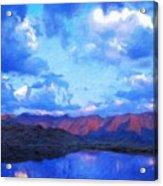Nature Work Landscape Acrylic Print