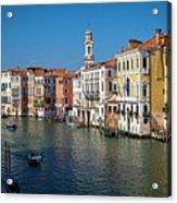 1399 Venice Grand Canal Acrylic Print