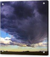 Afternoon Nebraska Thunderstorm Acrylic Print