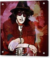 Deep Purple. Ritchie Blackmore. Acrylic Print