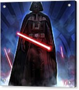 Episode 1 Star Wars Poster Acrylic Print