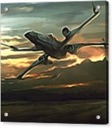 Episode 2 Star Wars Poster Acrylic Print