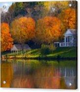 Framed Landscape Art Acrylic Print