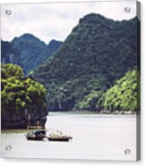 Picturesque Sea Landscape. Ha Long Bay, Vietnam Acrylic Print