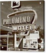 Route 66 - Tucumcari New Mexico Acrylic Print