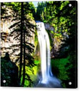 Salt Creek Falls Acrylic Print