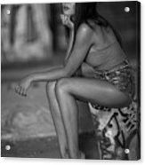 Sophia Anna Acrylic Print