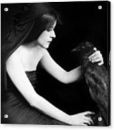 Theda Bara (1885-1955) Acrylic Print by Granger