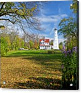 1406 North Point Lighthouse Acrylic Print