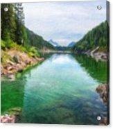 Art Landscape Nature  Acrylic Print