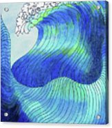141 - Waves Acrylic Print