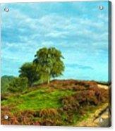 Oil Painting Landscape Pictures Nature Acrylic Print