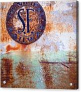 1450 Illinois Trolley Museum Acrylic Print