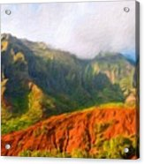 Landscape Paintings Nature Acrylic Print