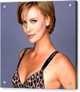 1491 Celebrity Charlize Theron  Acrylic Print