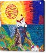15-23  Village Paradise Acrylic Print
