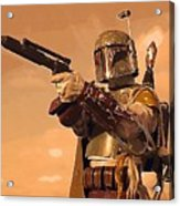 A Star Wars Poster Acrylic Print