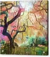 15 Abstract Japanese Maple Tree Acrylic Print