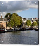 Canals Of Amsterdam Acrylic Print
