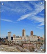 Cleveland Skyline Acrylic Print