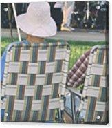 Concert Audience Acrylic Print