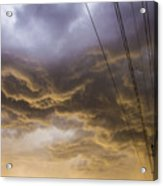 First Nebraska Storm Chase 2015 Acrylic Print