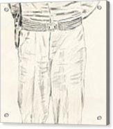 George Patton Acrylic Print