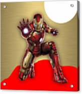 Iron Man Collection Acrylic Print