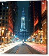 Philadelphia Street Acrylic Print