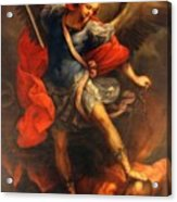 Saint Michael Acrylic Print