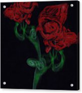 Smoke Art Photography Acrylic Print