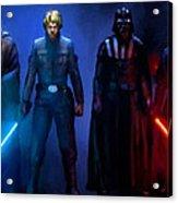 Star Wars 3 Poster Acrylic Print