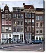 Streets Of Amsterdam Acrylic Print