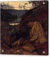 Wallis Henry The Stonebreaker2 Henry Wallis Acrylic Print