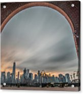 15 Years Later  Archway Of Rememberance Acrylic Print