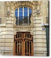 151 Rue De Grenelle Paris Acrylic Print
