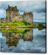 Painting Landscape Acrylic Print