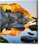Landscape Oil Painting Nature Acrylic Print