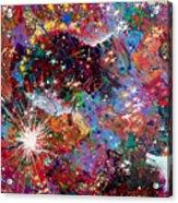 16-2 Yellow Space Acrylic Print