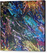 16-4 Space Explosion Canvas Acrylic Print