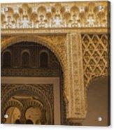 Alcazar Of Seville - Seville Spain Acrylic Print