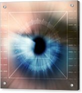 Biometric Eye Scan Acrylic Print