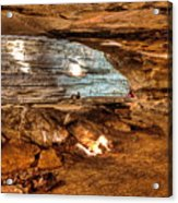 Great Saltpetre Cave Acrylic Print
