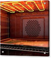 Inside The Oven Acrylic Print