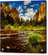 Landscape View Acrylic Print