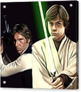 Star Wars Print And Poster Acrylic Print